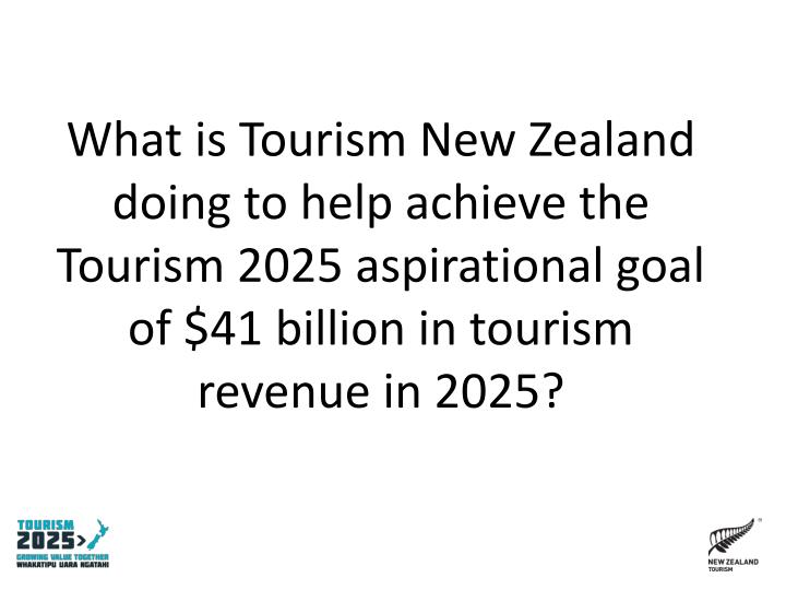 What is Tourism New Zealand