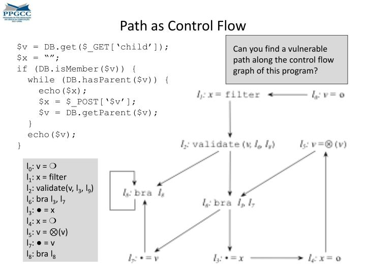 Path as Control Flow