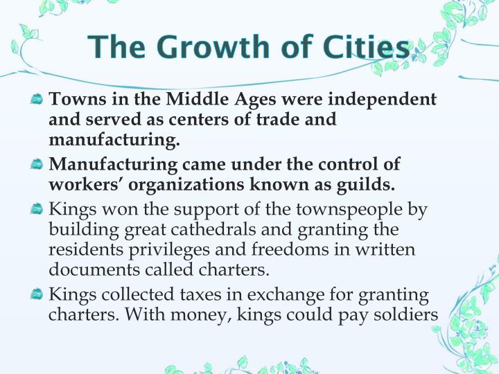 The Growth of Cities