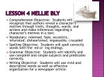 lesson 4 nellie bly