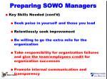 preparing sowo managers2
