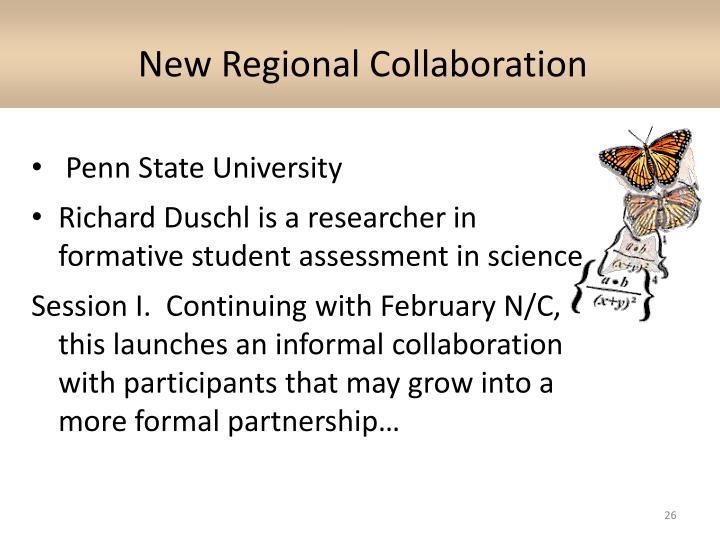 New Regional Collaboration