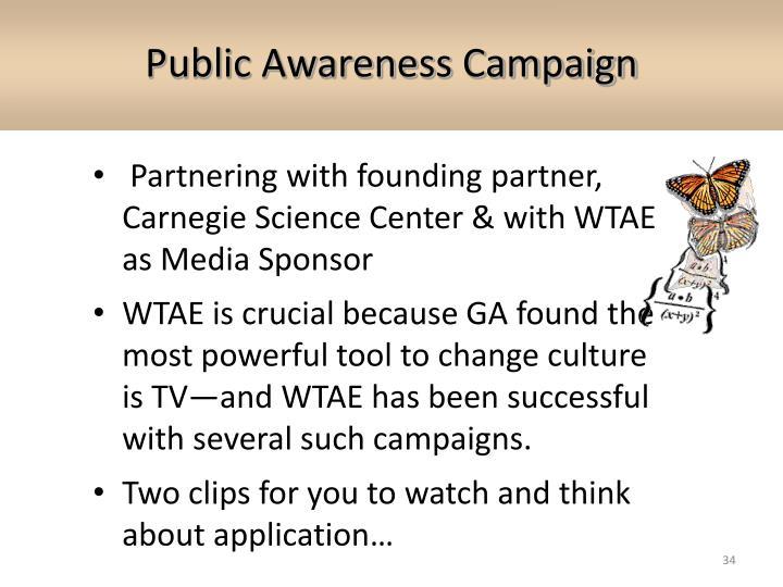 Public Awareness Campaign