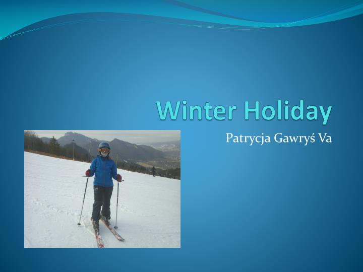 winter holiday n.