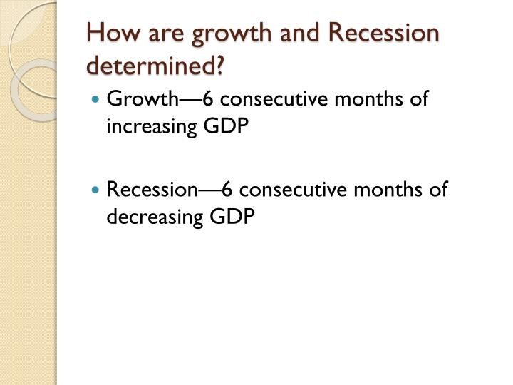 How are growth and