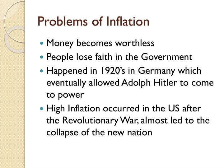 Problems of Inflation
