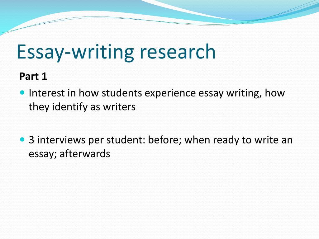 Essay writer helper job questions list