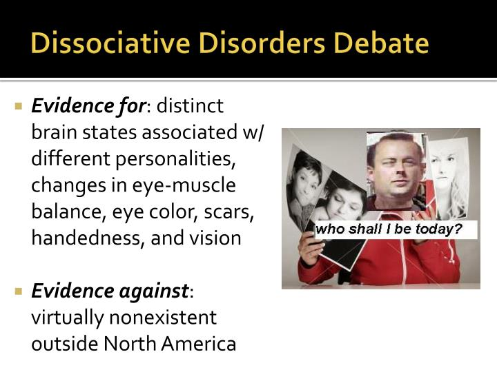 Dissociative Disorders Debate