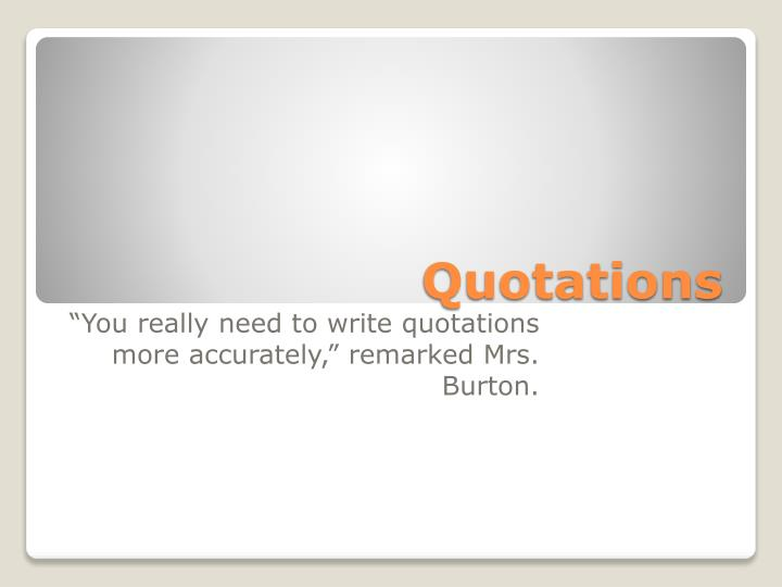 quotations n.
