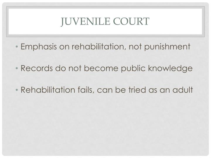 Juvenile Court