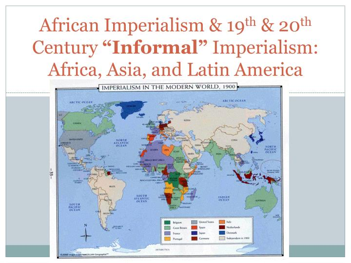 imperialism in africa and asia essay European conflict within africa and asia was limited, except where europe had set up new ports, two new states and where boer farmers gained more territory in africa although, during and after the imperialism, europe had conquered most of africa and asia's continents after battles for power.