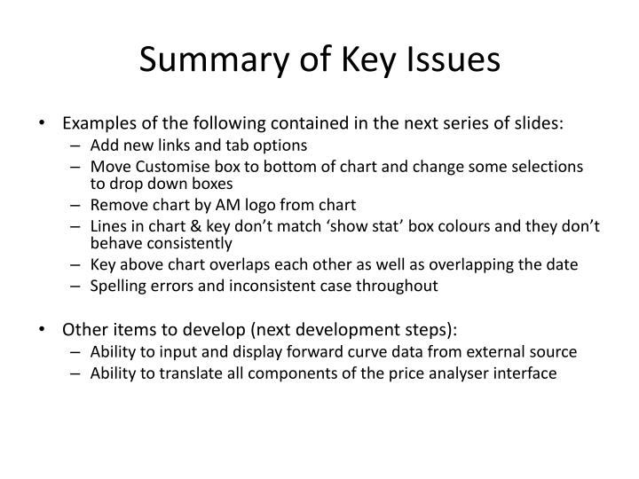 add key to powerpoint chart