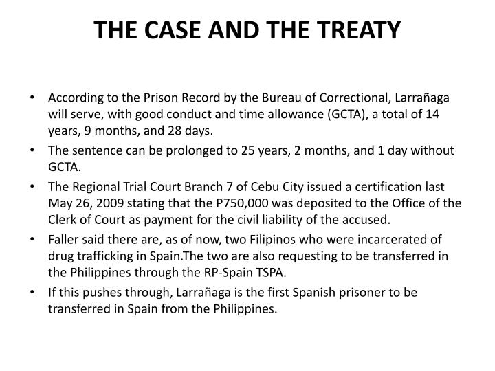 The case and the treaty1