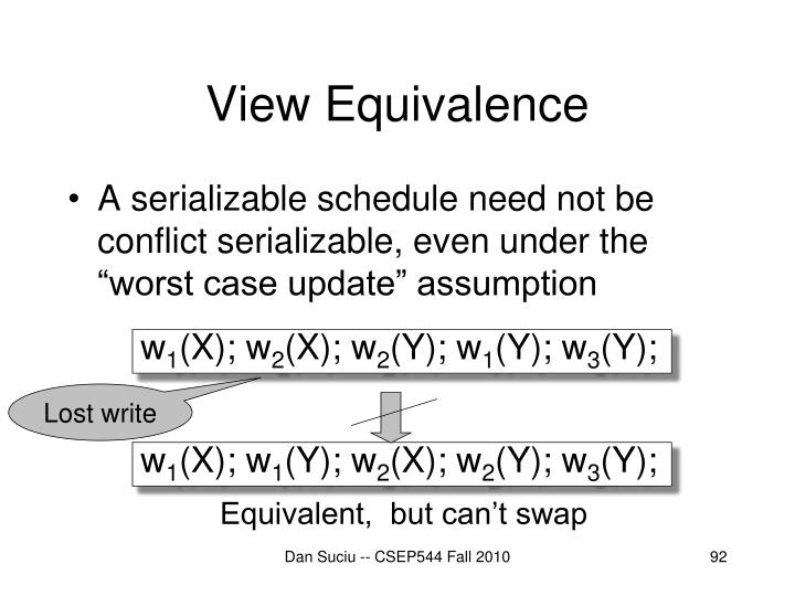 View Equivalence