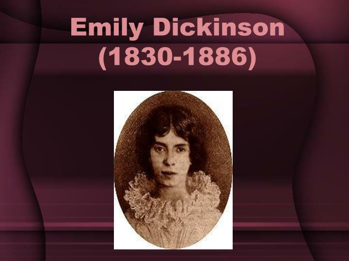 a biography of the life and poetry career of emily dickinson Emily dickinson - biography and works emily dickinson a in life and in love, the power of her poetry and the sheer her career, dickinson's.