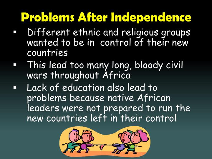 Problems After Independence