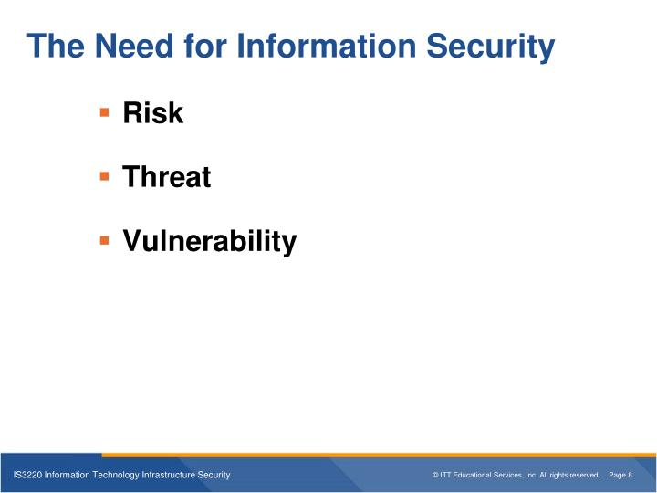 PPT - IS3220 Information Technology Infrastructure ...