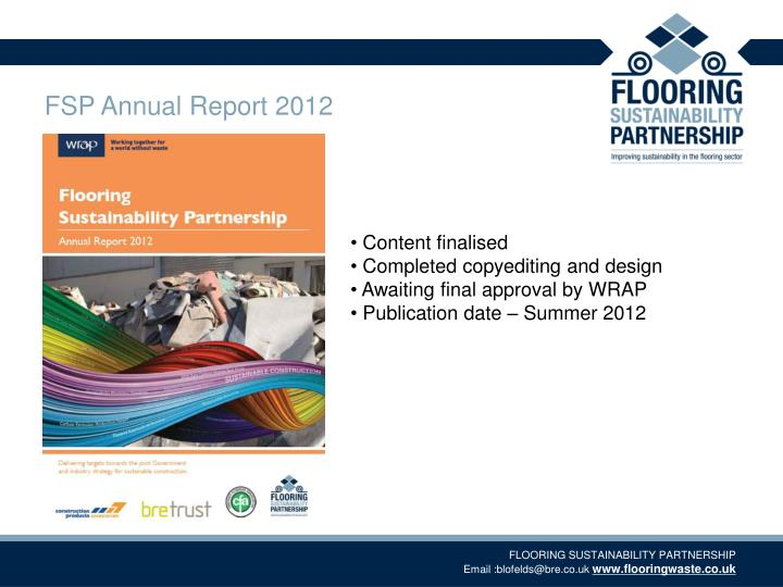 FSP Annual Report 2012