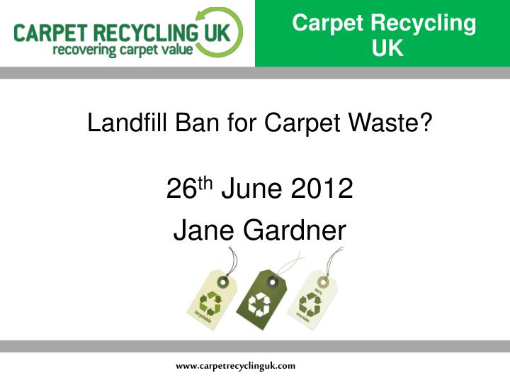 Carpet Recycling