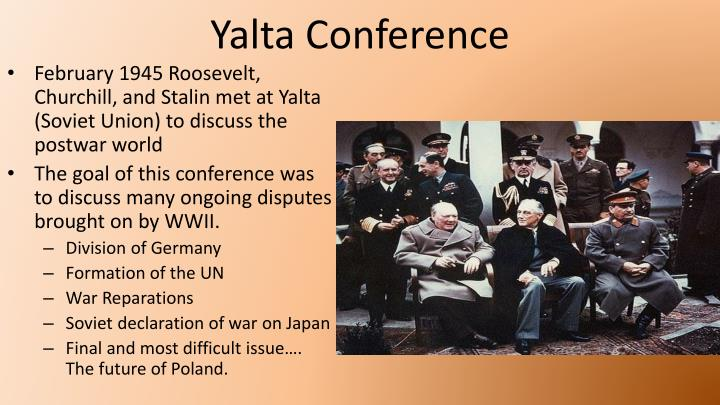 result of the yalta and potsdam Yalta conference fdr, churchill and stalin met at yalta ultimatum from the potsdam conference that was issued by the united states.