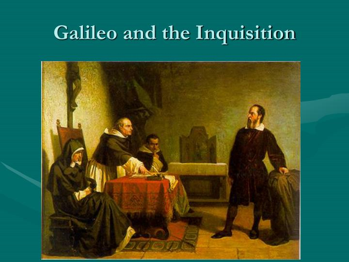 Galileo and the Inquisition