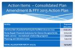 action items consolidated plan amendment ffy 2013 action plan1