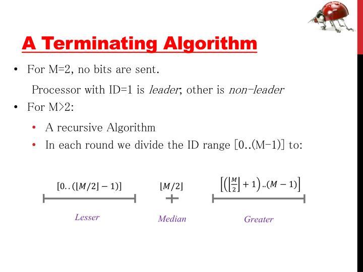 A Terminating Algorithm