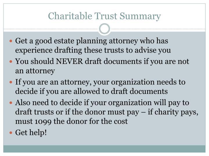 Planned Giving Design Center Charitable Lead Trust