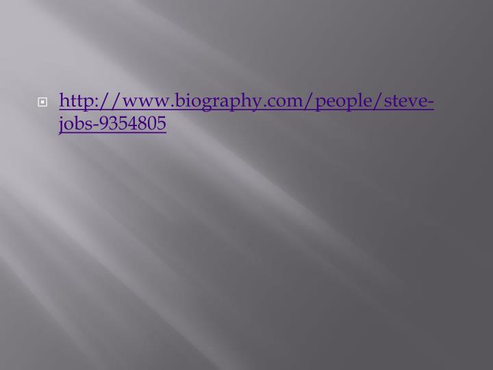 Ppt Steve Jobs 1955 2011 Powerpoint Presentation Id2631725