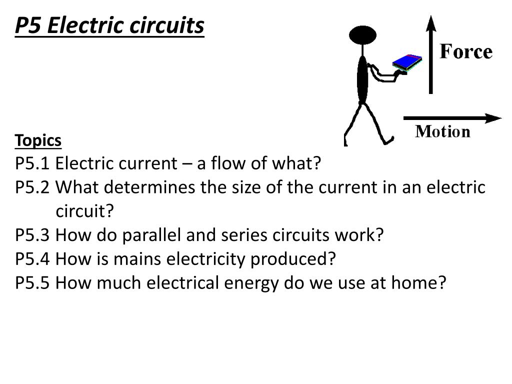 Ppt P5 Electric Circuits Topics P51 Current A Flow Of Circuit Model What Powerpoint Presentation Id2631864