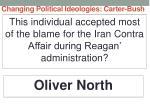 changing political ideologies carter bush22