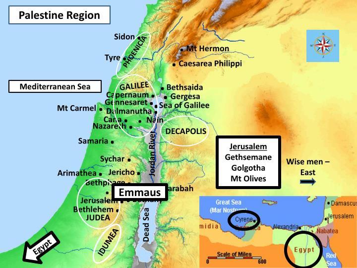 Palestine Region