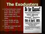 the exodusters