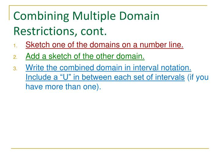 ppt  domain and interval notation powerpoint presentation