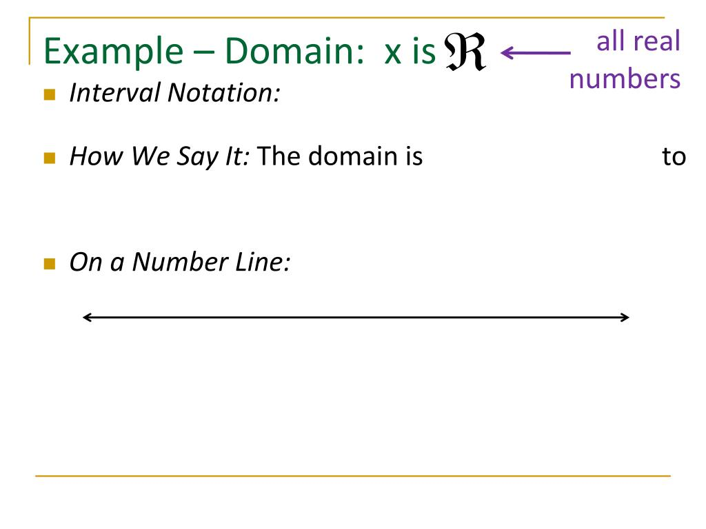 Ppt Domain And Interval Notation Powerpoint Presentation Free Download Id 2632097