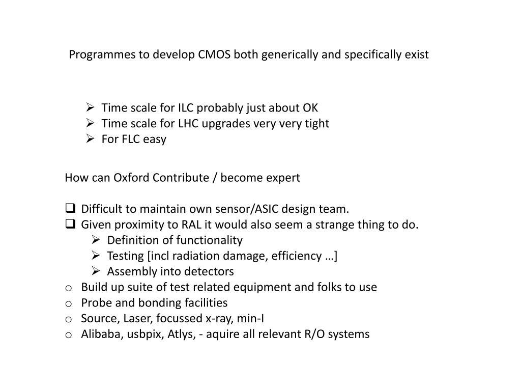 PPT - CMOS Sensor Development PowerPoint Presentation - ID