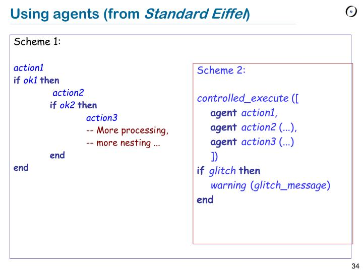 Using agents (from