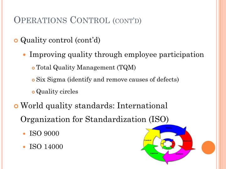 Operations Control