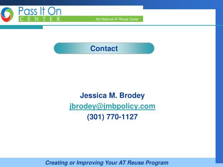 Jessica M. Brodey