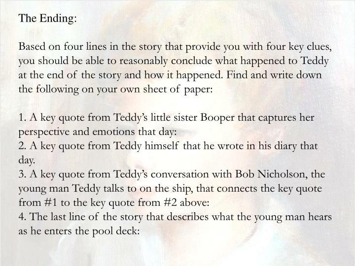 teddy jd salinger analysis