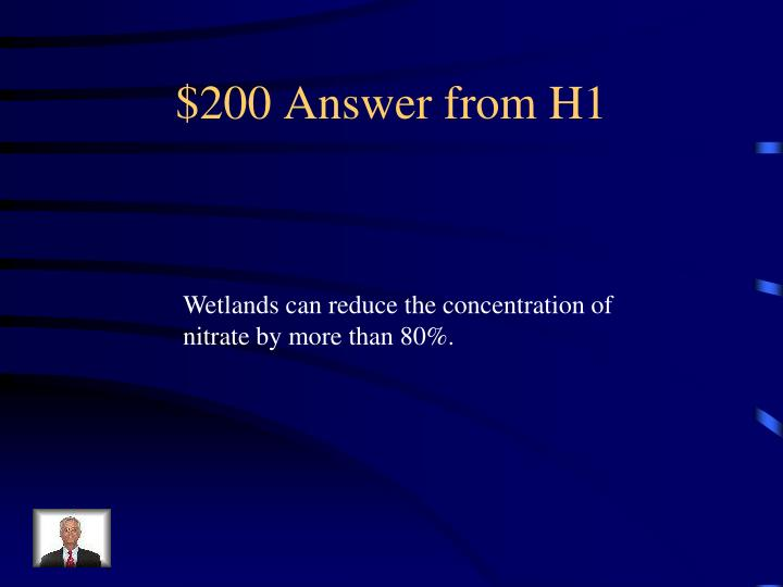 $200 Answer from H1