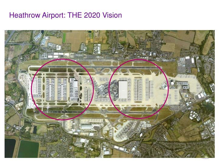 Heathrow Airport: THE 2020 Vision