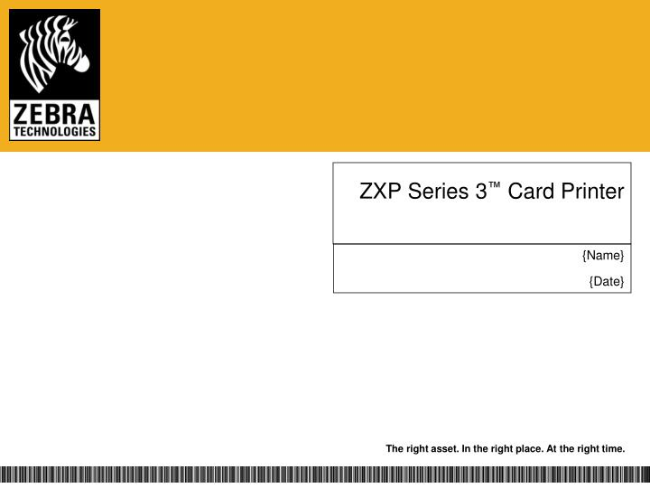 zxp series 3 card printer n.