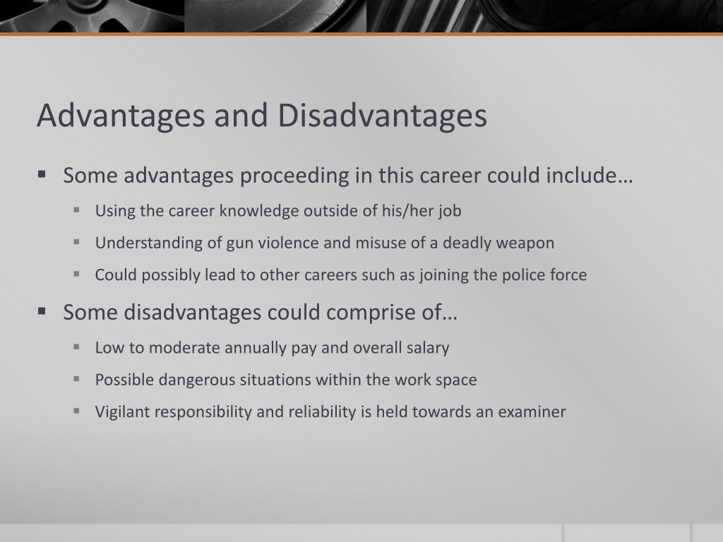Ppt Firearm Examiners And Ballistic Experts Powerpoint Presentation Free Download Id 2633761