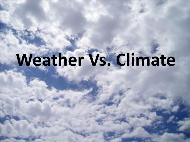 weather vs climate n.
