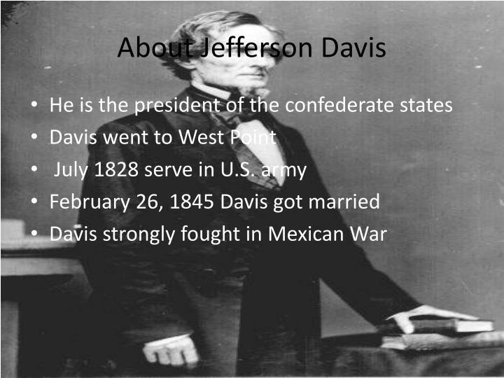 About Jefferson Davis