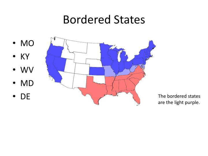 Bordered States