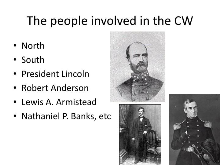 The people involved in the CW