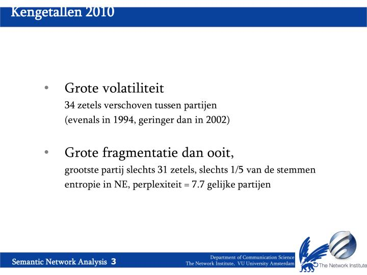 Kengetallen 2010