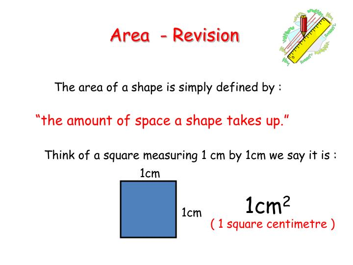 area revision n.